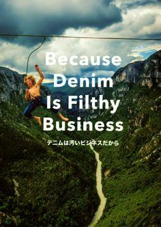 Because Denim is Filthy Business  水の使用量を84%削減した「パタゴニア・デニム」に見るリアルな危機感