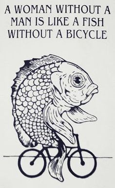 funny fish on a bicycle meme