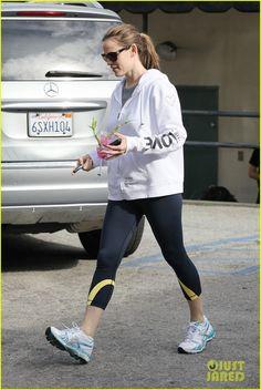 Jennifer Garner in the I am LOVE L2L hoodie! http://peaceloveworld.com/index.php/i-am-love-l2l-white-hoodie-PDPA.html