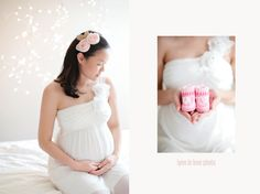 Soft and romantic maternity by the lovely @Lynn Nguyen