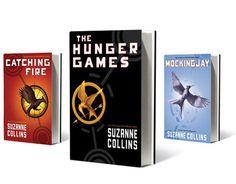 http://imagenesss.com/wallpaper/Los-Juegos-Del-Hambre-Libro/#  Saga de los juegos del hambre, por orden de colocación: Catching Fire(en llamas), The hunger games(los juegos del hambre) y por ultimo Mockinjay(sinsajo). Una gran saga la recomiendo, apta para todas las edades.