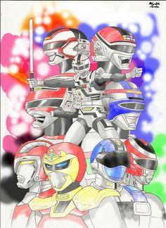 Metal Hero Illustration!!!