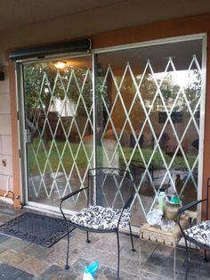#Budgetfriendly sliding glass door security.