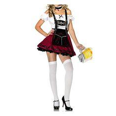 Oktoberfest Schuetzenfest Dirndl 3 tlg. Lolita Maid Cosplay Kostueme Uniform Cosplay Halloween Party Kleider(one size,wie Fotos) Fashion Season http://www.amazon.de/dp/B00LX5AM8G/ref=cm_sw_r_pi_dp_bQX8tb1JQ4S8Y