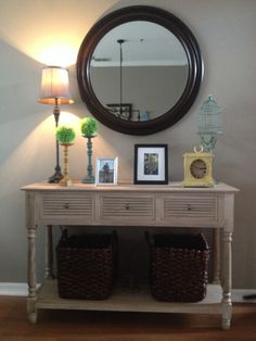Sofa table project
