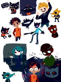 Mae Borowski, Pretty Drawings, Awesome Drawings, Wood Games, Night In The Wood, It Goes On, Indie Games, Design Reference, Furry Art