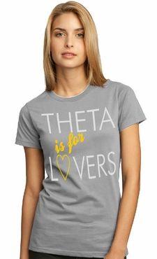 Kappa Alpha Theta is for lovers...