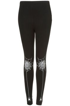 Webby Legging Goodness. Also, Glow In the Dark. Who doesn't need glow in the dark?
