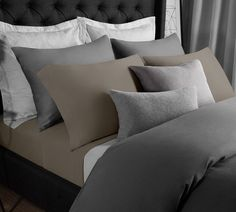 Solid Modal Jersey Sheet Set in Fossil #30-50 #50-100 #black-friday
