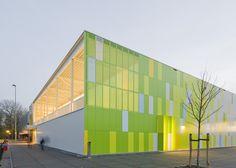 De Rietlanden Sports Hall // Slangen + Koenis Architects // Lelystad, The Netherlands