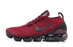 Nike Air VaporMax Flyknit 2019 Wine Red/Black Men's/Women's Running Shoes Nike Air Vapormax, Red Black, Black Men, Air Max Sneakers, Sneakers Nike, Cleats, Men And Women, Running Shoes, Nike Tennis