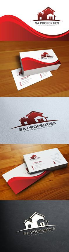 SA Properties and Financial Services Behance, Branding, Business, Life, Design, Brand Management, Store, Identity Branding