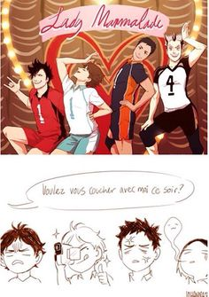 Captains and setters Haikyuu <<< I think you mean captains and boyfriends ;)