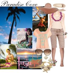 """""""Paradise Cove"""" by auntiehelen ❤ liked on Polyvore"""