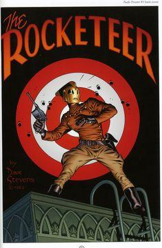 """The Rocketeer"" Poster Design"