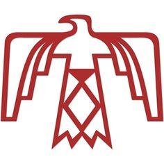 motiv ~ donnervogel, thunderbird, indianer, totem, native … | indianische tattoos