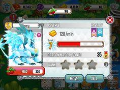 My pure ice dragon