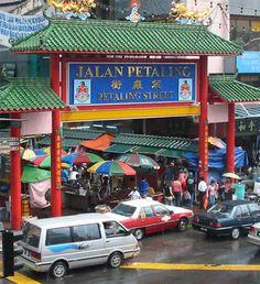 China Town, Kuala Lumpur, Malaysia