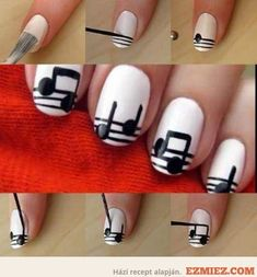 38 Interesting  Nail Art Tutorials Love this!! Also....Awesome!!