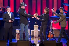 Keith Urban Welcomed as Newest Grand Ole Opry Member