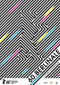 Graphic design for Berlinale Film Festival, for and with Fons Hickmann m23 www.fonshickmann.com/#/projects/berlinale