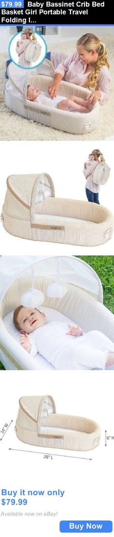 Cool Baby Nursery Baby Bassinet Crib Bed Basket Girl Portable Travel Folding Infant Newborn Gift BUY Elegant - portable baby sleeper Amazing