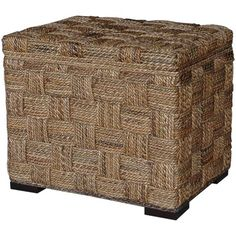 $300 Jeffan Square Wave Ottoman with Storage