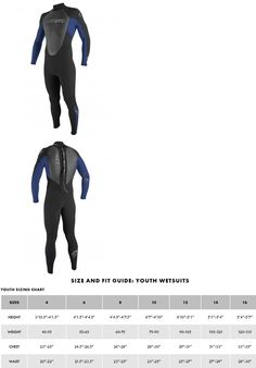 Youth 47355: O Neill Reactor 3 2Mm Full Wetsuit - Youth - Black Pacific - 4 -> BUY IT NOW ONLY: $84.99 on eBay!