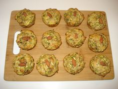 low-fat zucchini muffins