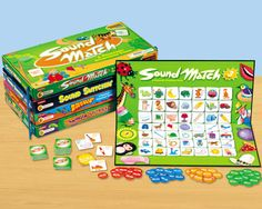Phonemic Awareness Games Library   Complete Set At Lakeshore Learning...  Wish List!