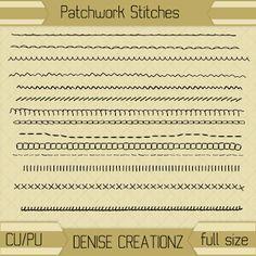 Denise Creationz: Patchwork Stitches