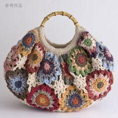 Transcendent Crochet a Solid Granny Square Ideas. Inconceivable Crochet a Solid Granny Square Ideas. Mode Crochet, Crochet Shell Stitch, Crochet Tote, Crochet Handbags, Crochet Purses, Crochet Crafts, Knit Crochet, Crochet Granny, Purse Patterns