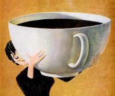 coffee cup illustration
