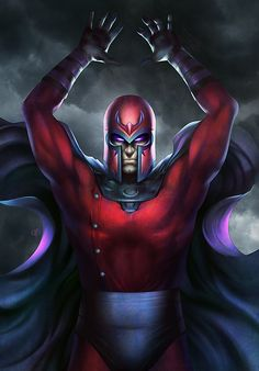 Magneto  Created by Megurobonin