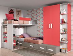 Modern Kids Bedroom, Cute Bedroom Ideas, Girls Bedroom, Bedroom Decor, Ikea Storage Bed Hack, Other Rooms, Furniture, Design, Home Decor