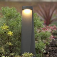 Vortex graphite grey warm white 262 lumens 49 degree beam angle tall and wide Comes prewired with of cable.