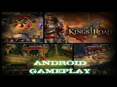 KINGS ROAD Gameplay on Android / Partida de KINGS ROAD en Android ( Video ) - YouTube #androidgame #mobile #android #gaming #galaxys6 #s6edge