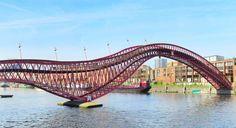 Python Bridge, Amsterdam. Photo: Shutterstock