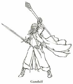 coloring page Lord of the Rings - Lord of the Rings