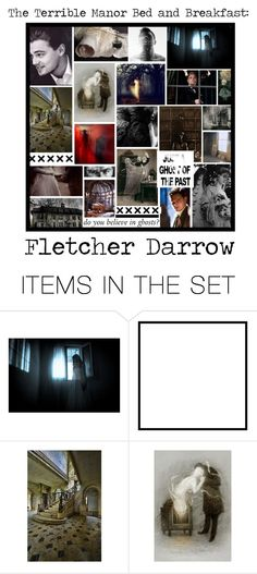"""The Terrible Manor Bed and Breakfast OC Battle Group - Group Info and Fletcher Darrow"" by decoder13 ❤ liked on Polyvore featuring art, dining room, country and scroll_position"