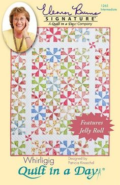 Eleanor Burns Whirligig Quilt Pattern - Click Image to Close