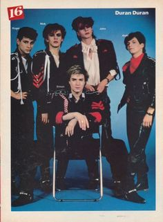 I have this pic somewhere in my DD poster archives. :) >>> Duran Duran - Group shot