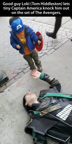 Good Guy Loki Marvel Avengers, Marvel Comics, Marvel Heroes, Avengers Girl, Marvel Jokes, Funny Avengers, Iron Man, Captain America Costume, Capt America