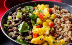 Cuban Black Bean Mango Bowl [Vegan, Gluten-Free] | One Green Planet