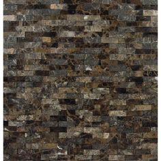 MSI Emperador 12'' x 12'' Marble Splitface Tile in Brown & Reviews | Wayfair