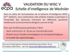 """Tous les 10 ans (environ) les tests de mesure de QI (WIPPSI - WISC - WAISS) sont actualisés afin de mieux coller à la """"réalité"""". Dans le cadre de l'étalonnage du futur WISC 5 les Éditions du Centr..."""