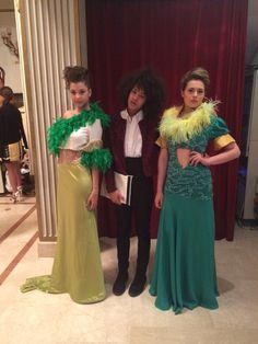 Italo-Brazilian dress !   il mio look della serata e stato realizzato completamente da me ! Tranne le scarpe !