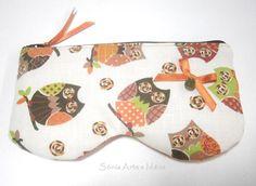 Bolsa para óculos de sol - Mochos   http://www.facebook.com/soniaarteemaos