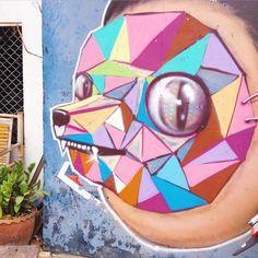 Street art - Chiang Mai, Thailand