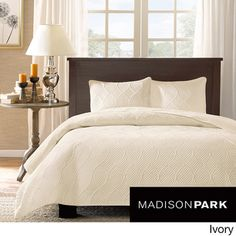 Madison Park Adelle 3-piece Coverlet Set | Overstock.com Shopping - Great Deals on Madison Park Bedspreads